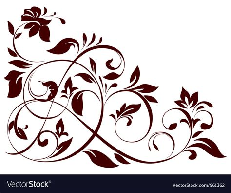 royalty free vector ornamental with 343155995 stock floral ornament royalty free vector image vectorstock