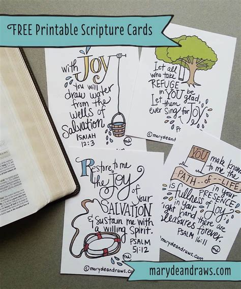 verse card template marydean draws free printable scripture cards i