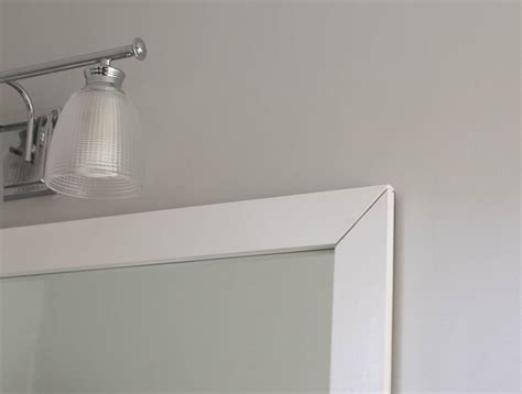 how to frame out a bathroom mirror how to frame a bathroom mirror easy diy project
