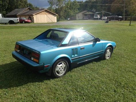 where to buy car manuals 1985 toyota mr2 electronic valve timing buy used 1985 toyota mr2 in eccles west virginia united states