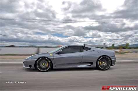 Ferrari 360 Modena Modified by Photo Of The Day Modified Ferrari 360 On The Move Gtspirit