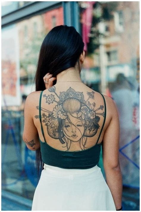 tattoo geisha girl 45 traditional geisha tattoo that inspire your artistic side