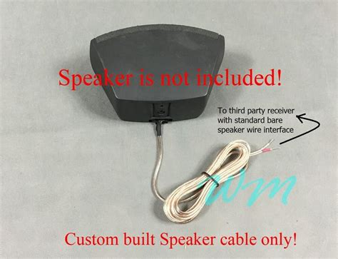 ft cables  connecting bose cinemate speaker