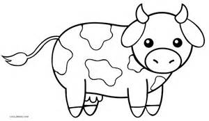 cow coloring page free printable cow coloring pages for cool2bkids
