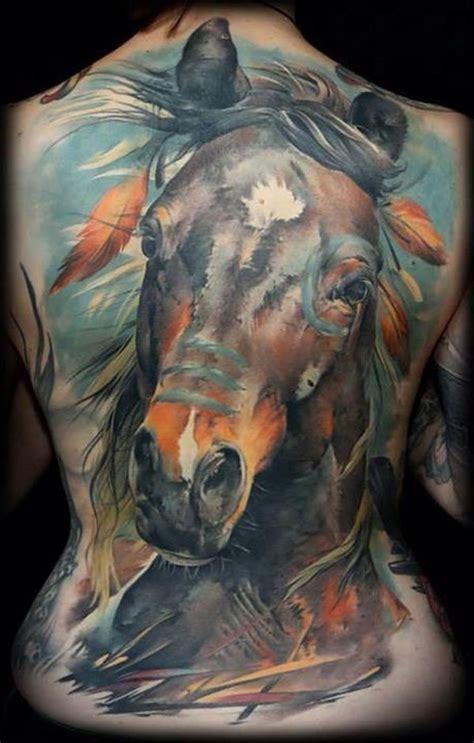 tattoo horse back 50 classy horse tattoo design collection golfian com
