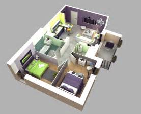 Two Bedroom Houses 50 3d Floor Plans Lay Out Designs For 2 Bedroom House Or Apartment