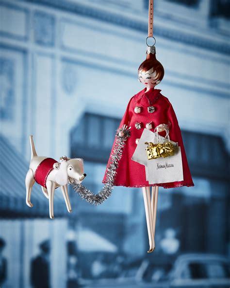 de carlini nm lady shopper christmas ornament neiman marcus