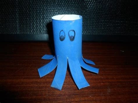 Octopus Toilet Paper Roll Craft - toilet roll octopus my kid craft