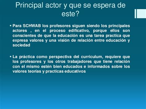 Modelo Curricular Joseph Schwab Curriculum