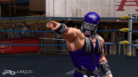 imagenes de luchas libres aaa lucha libre aaa heroes of the ring para ps3 3djuegos
