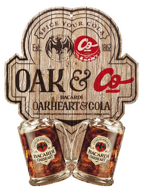bacardi oakheart logo le bacardi oakheart arrive en