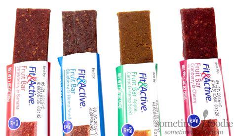 fruit bars sometimes foodie 4 flavors of fit active fruit bars aldi