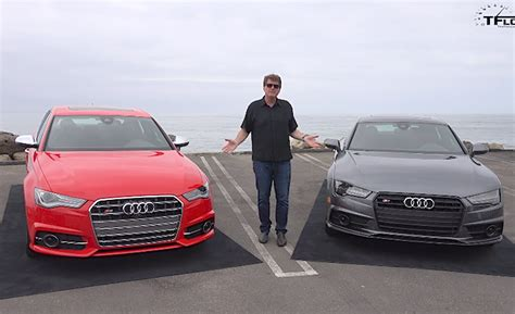 difference between audi a7 and s7 lifted 2016 audi s6 vs audi s7 drive mashup