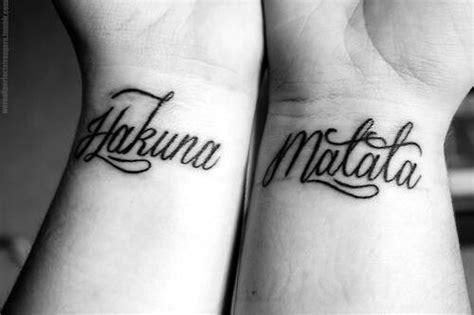 hakuna matata tattoo wrist 1000 images about the king guard on