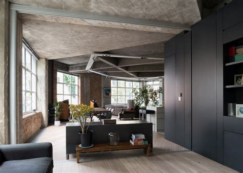 concrete apartments awesome renovation of a london apartment with concrete