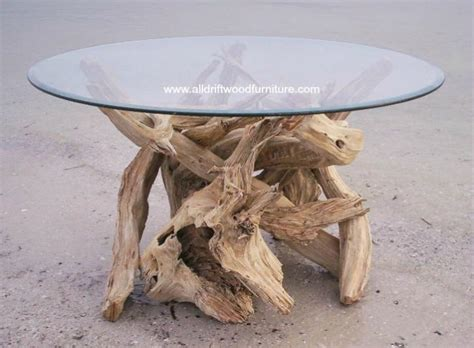 Driftwood dining table art. Hand crafted from Gulf Island