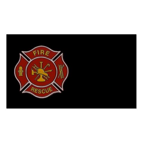firefighter business card template firefighter business cards page2 bizcardstudio