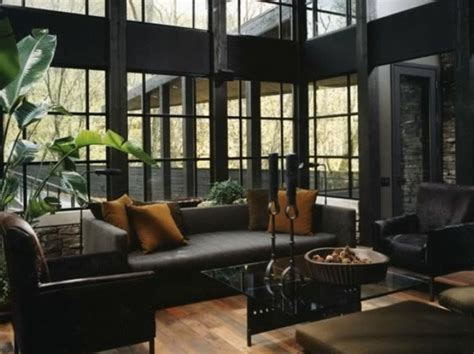 Dark Living Rooms | 36 stylish dark living room designs digsdigs