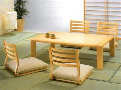 japanese style table and chairs 20 trendy japanese dining table designs