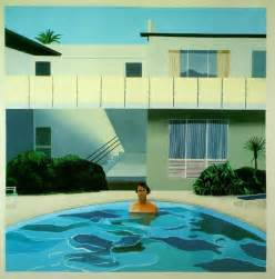 Kitchen Table Omaha by Swimming Pool Paintings David Hockney Paint Best Home