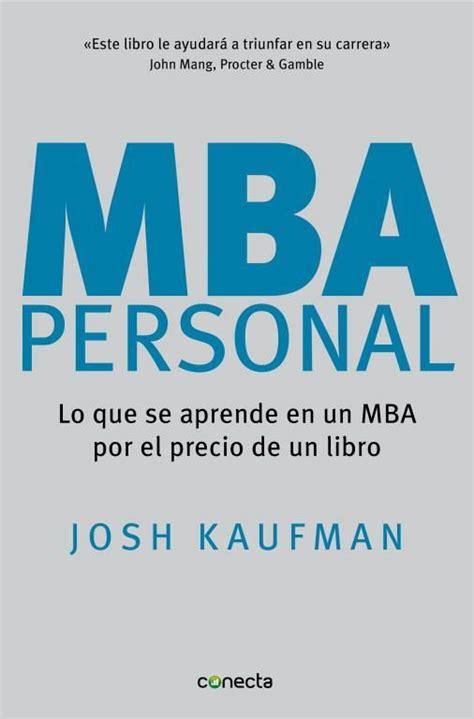 libro the personal mba a libros de negocios para crecer