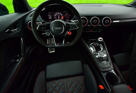 Audi Tt Rs Interior by 2018 Audi Tt Rs Drive Review Motor Trend