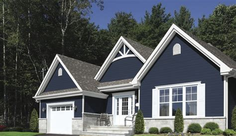 blue house siding kwp naturetech siding traditional exterior montreal by kwp products