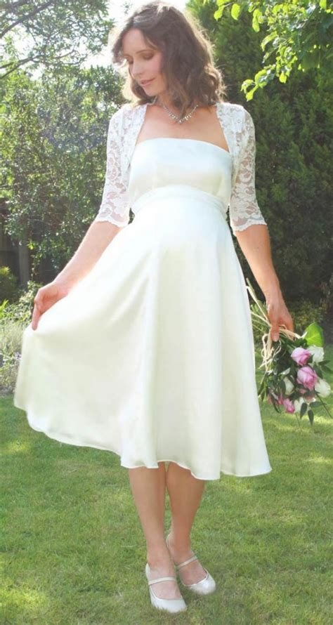 simple short country wedding dresses