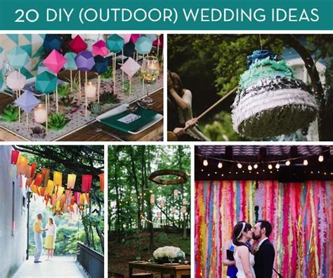 Roundup: 20 Amazing DIY Outdoor Wedding Ideas   Photo