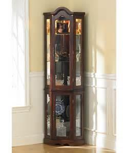 Sauder Corner Curio Cabinet Model 73500 2 Door Cabinet With Curio Shelf Cabinet Doors