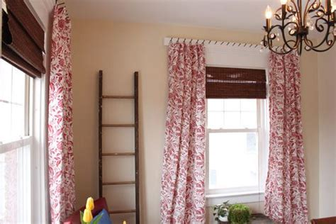 alternative ways to hang curtains cheap and interesting way to hang curtains for the home