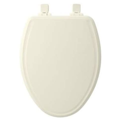 church toilet seats home depot church elongated closed front toilet seat in biscuit 685e3