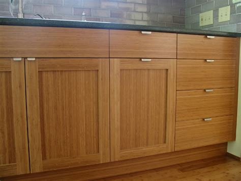 bamboo kitchen cabinets new house pinterest bamboo