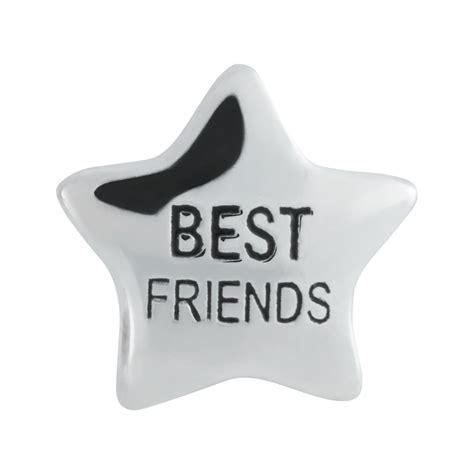 sterling silver best friends charm