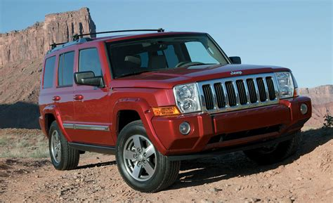 all car manuals free 2008 jeep commander lane departure warning 2008 jeep commander review car and driver blog