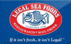 legal sea foods gift card discounts comparison chart - Legal Seafood Gift Card Discount