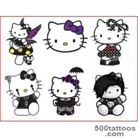 small hello kitty tattoos designs ideas meanings images