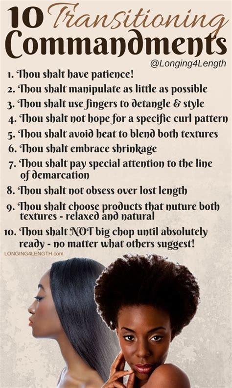 Relaxer Hair Care Tips From The Pro by Best 25 Hair Transitioning Ideas On