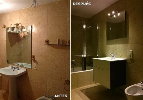 antes y despues bano con pintura antes y despu 233 s dos maneras diferentes de renovar un