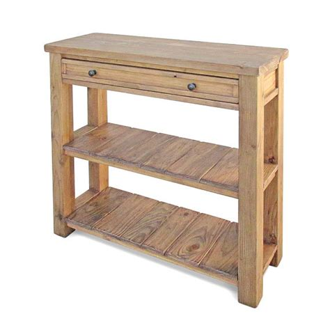 table console table tv stand media console reclaimed wood