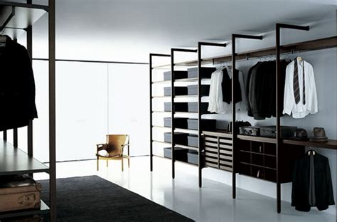 Modern Closet Design Walk In Closet And Multi Functional Storage Nurani Interior