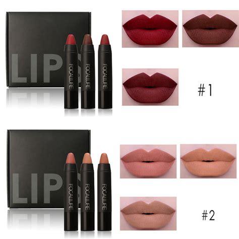 Lipstik Focallure popular matte lipstick set buy cheap matte lipstick set