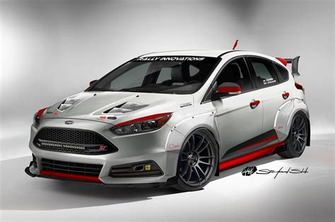 ford focus modified ford focus st fiesta st cars heat up sema