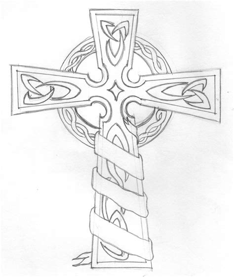 The Gallery For Gt Cross Tattoo Coloring Pages Coloring Pages Of Crosses