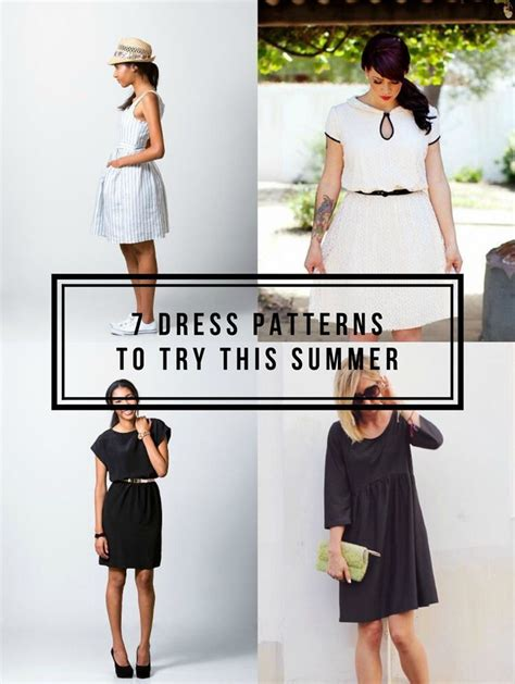 8 Reasons To Try Your Own Clothes by Best 25 Summer Dress Patterns Ideas On Sewing