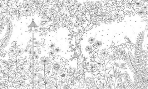 secret garden coloring book watercolor binnen de lijntjes kleuren kleurboek voor volwassenen