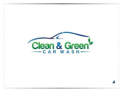 Logo Wanted Clean Green Car Wash Logo Design 99designs 15932832 Car Wash Logo Template Free