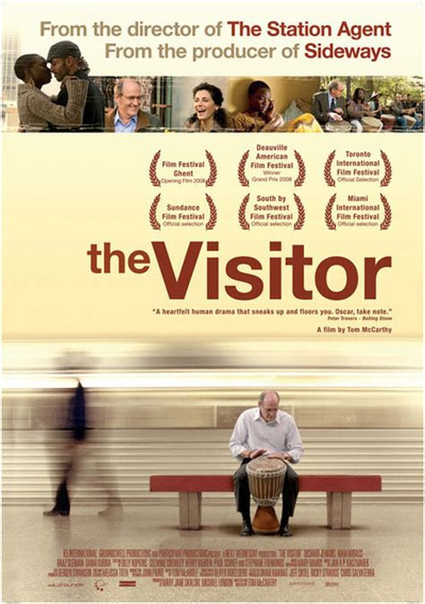 visitor the how and the visitor movie review film summary 2008 roger ebert