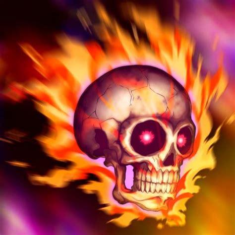 imagenes de calaveras en fuego gifs de calaveras con fuego imagui