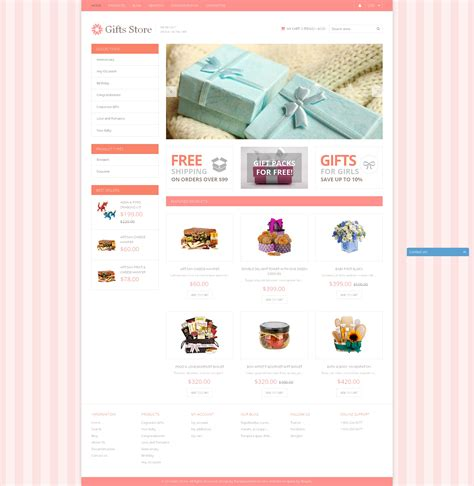 shopify themes gifts gifts store responsive shopify theme 49590